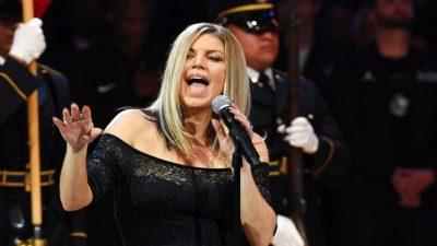 Fergie se desculpa pela apresentação no NBA All-Star Game