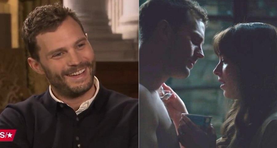 """Jamie Dornan não recomenda que casais reproduzam cena de sorvete de """"Cinquenta Tons de Liberdade"""""""