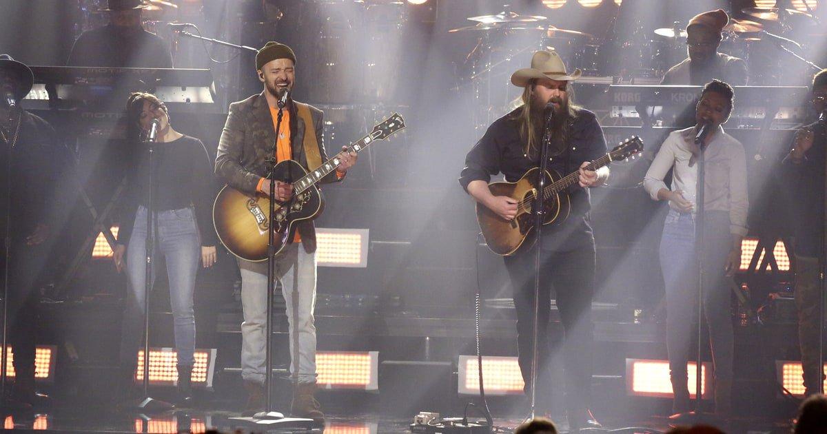 Justin Timberlake faz primeira e maravilhosa performance de 'Say Something' com Chris Stapleton na TV; vem ver!