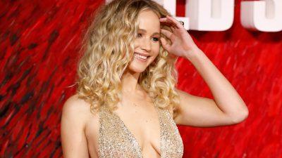 """Jennifer Lawrence revela """"crush"""" em ator: """"Esperando ele ficar mais velho"""""""