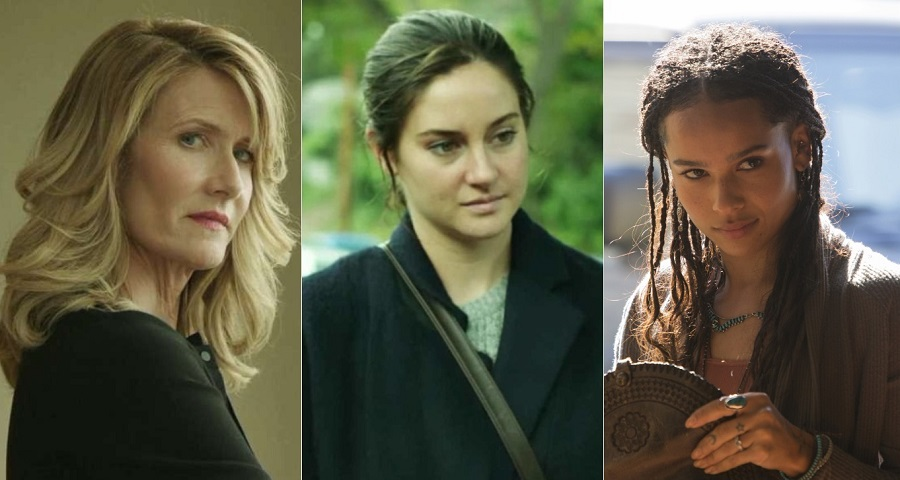 """Big Little Lies"": Shailene Woodley, Laura Dern e Zoë Kravitz são confirmadas na 2ª temporada"