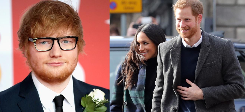 Ed Sheeran abre o jogo sobre possível show no casamento do Príncipe Harry e Meghan Markle; assista!
