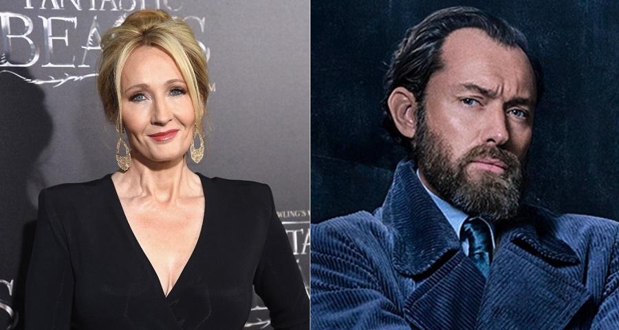 'Animais Fantásticos': J.K. Rowling se manisfesta sobre controvérsia envolvendo sexualidade de Dumbledore