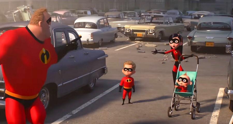"""OMG! Saiu o primeiro trailer de """"Os Incríveis 2""""; vem assistir que tá maravilhoso!"""