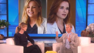 """Ellen Pompeo abre o jogo sobre luta salarial e comenta saída de Drew e Capshaw em """"Grey's Anatomy""""; assista!"""