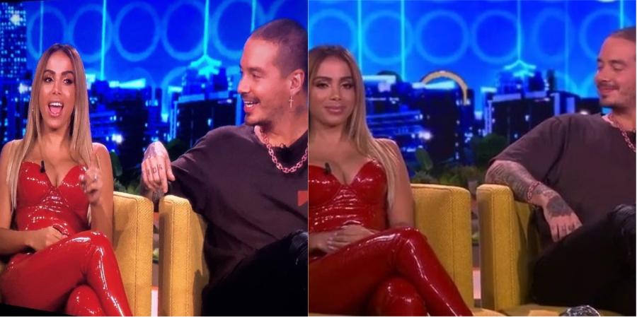 Anitta faz performance de 'Machika' com J Balvin e fala sobre namorada do colombiano na TV dos EUA