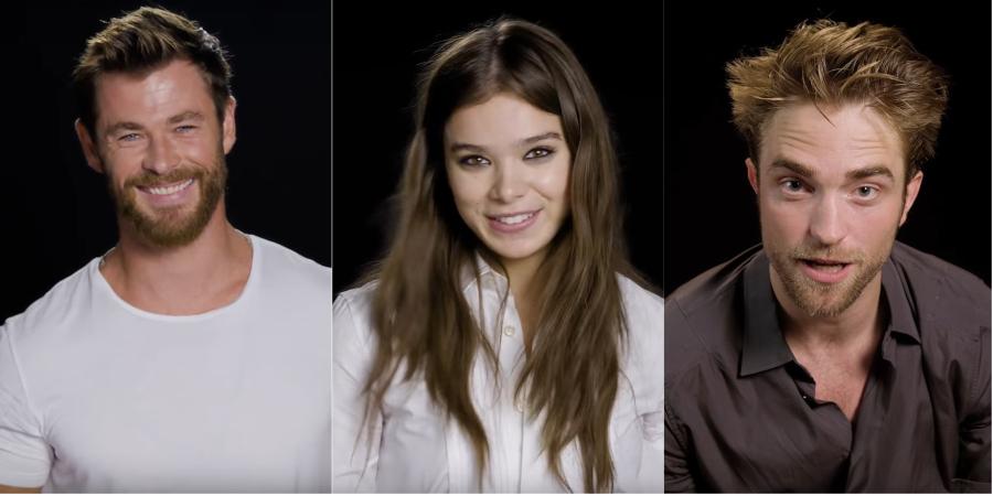 Chris Hemsworth; Robert Pattinson; Hailee Steinfeld e mais interpretam hit de Bruno Mars; vem ver!