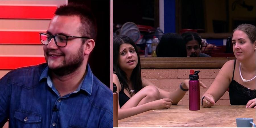 BBB18: Diego se surpreende ao saber da rejeição dele e das aliadas Ana Paula e Patrícia; assista