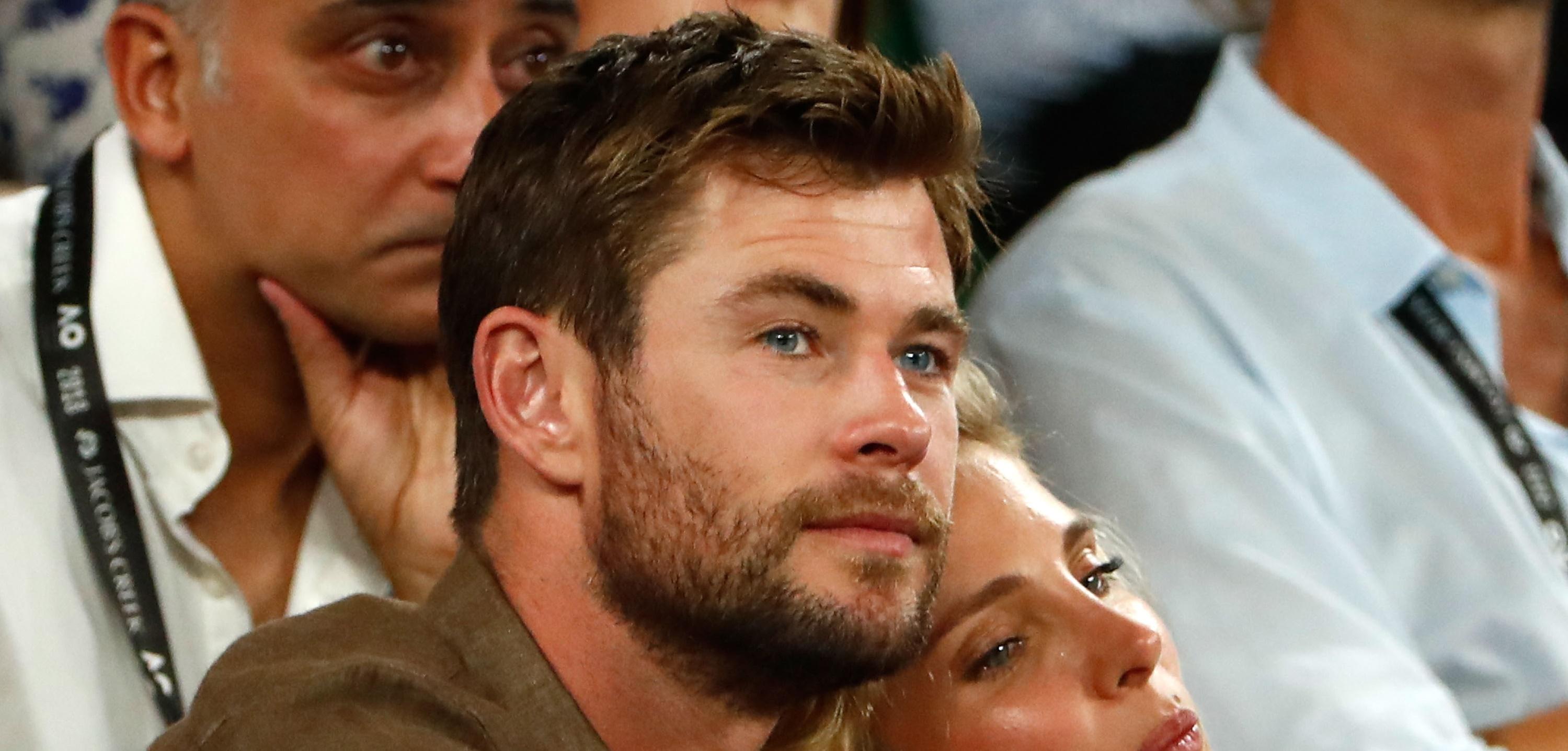 Chris Hemsworth ficou chocado com tanquinho de colega de filme: 'Posso tocar?'