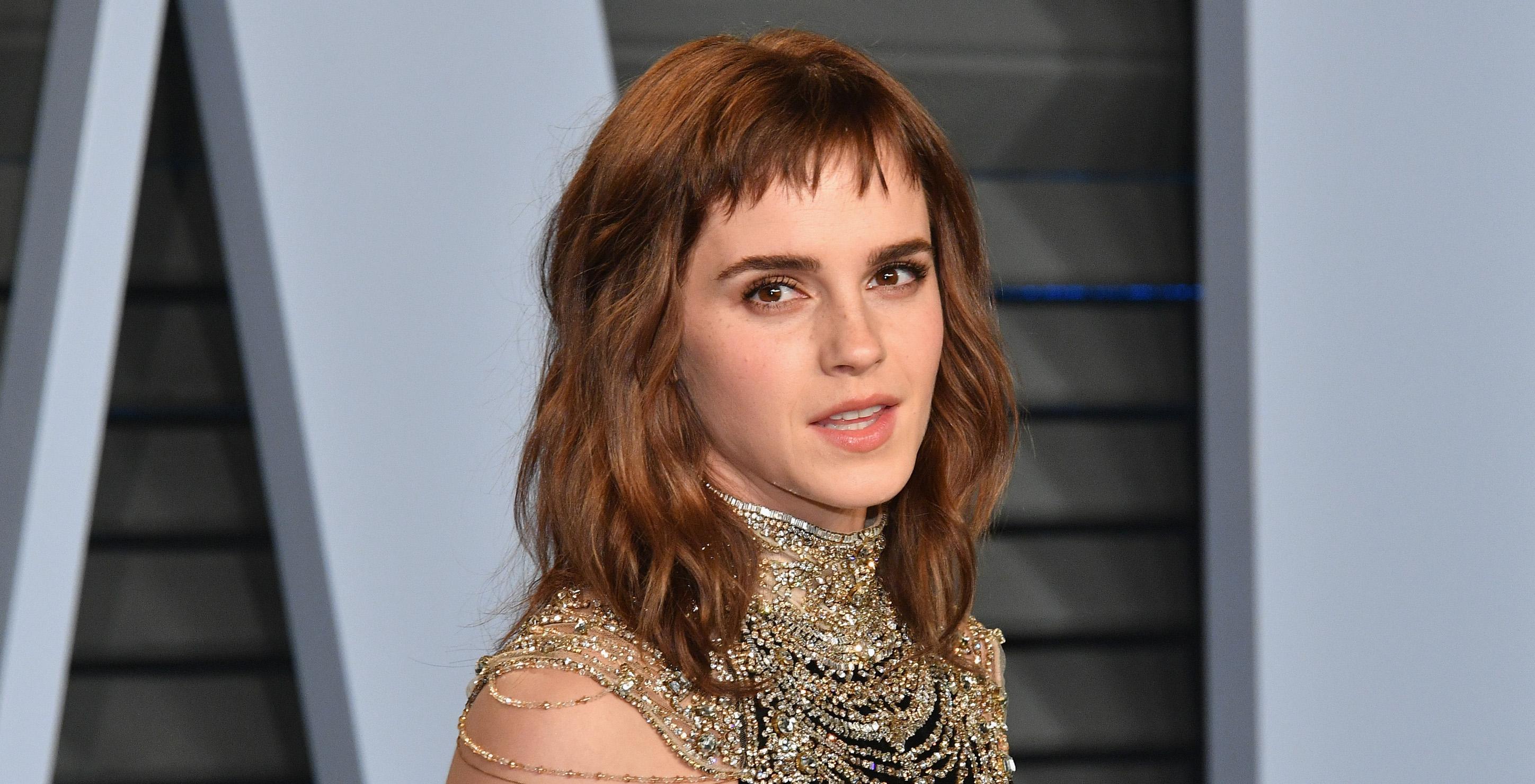 Emma Watson comenta erro em tatuagem feita para festa pós-Oscar