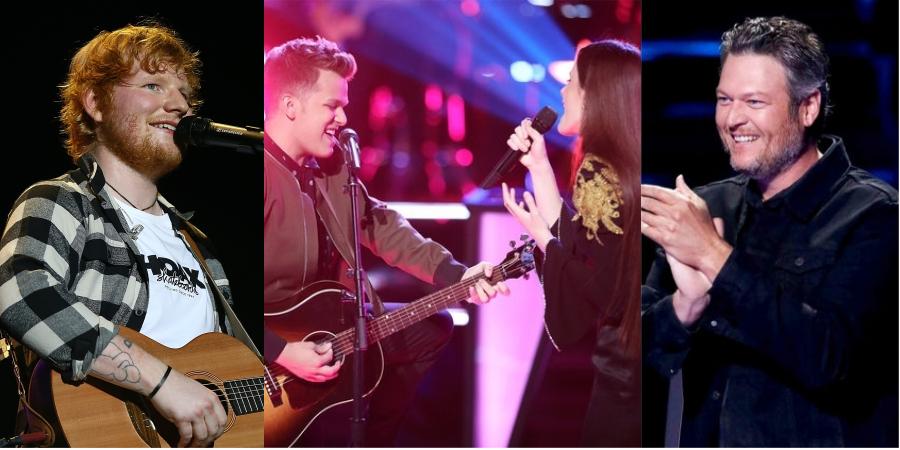 'The Voice': Participantes fazem batalha perfeita com hit de Ed Sheeran, e Blake Shelton toma a melhor decisão