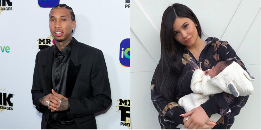 Tyga quebra silêncio sobre rumor de que seria pai de Stormi, a filhinha de Kylie