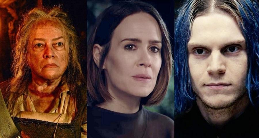"""""""AHS"""": Sarah Paulson, Evan Peters e Kathy Bates serão os protagonistas da 8ª temporada"""