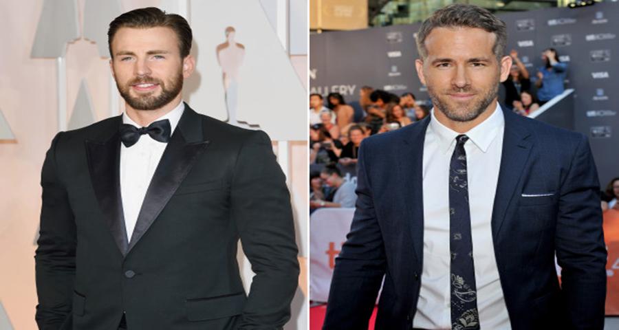 Chris Evans e Ryan Reynolds mandam mensagem especial a fã em estado terminal