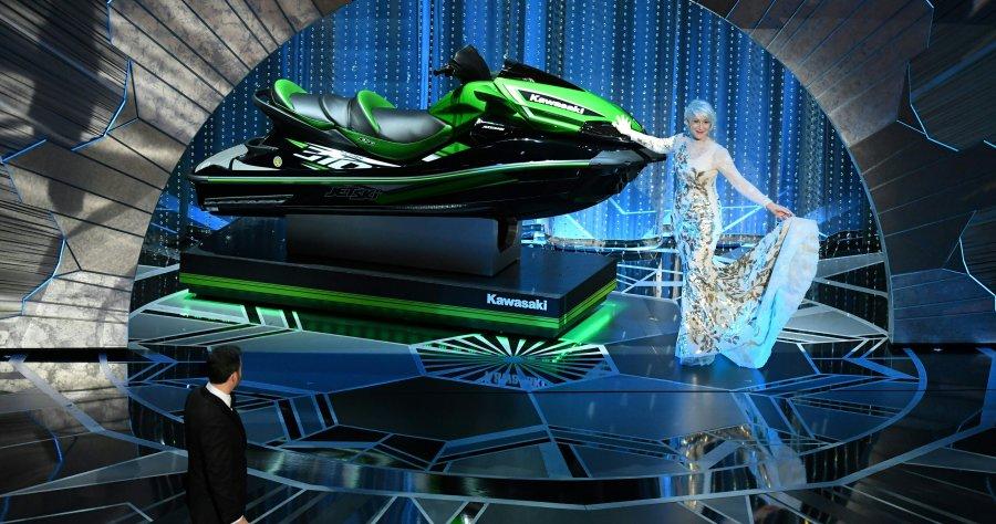 Jet Ski dado no Oscar será leiloado e dinheiro irá para artistas aposentados