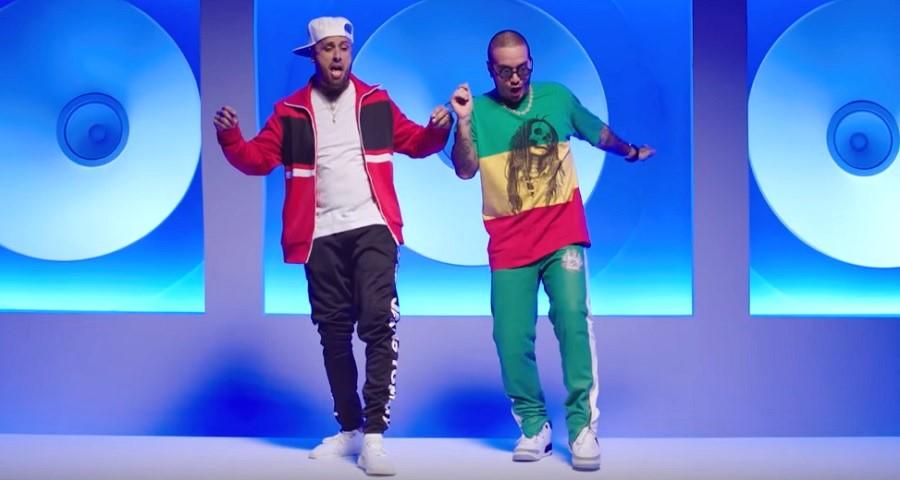 """J Balvin e Nicky Jam lançam clipe divertido para a parceria """"X""""; assista"""