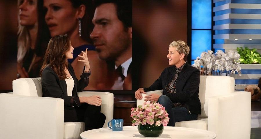 "Na Ellen, Jennifer Garner comenta vídeo que viralizou no Oscar: ""Muito constrangedor"""