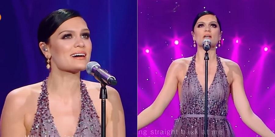"""Jessie J faz performance maravilhosa de """"Reflection"""", da trilha de """"Mulan"""", em programa chinês"""