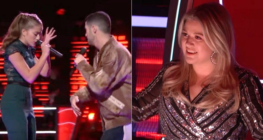 "Dupla de Kelly Clarkson canta ""…Ready For It?"", de Taylor Swift, em batalha no ""The Voice"""