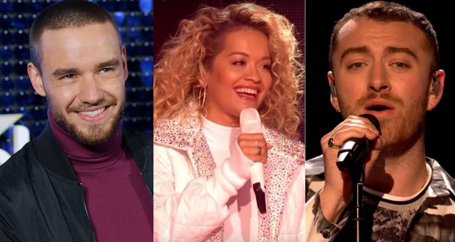 Rita Ora, Liam Payne e Sam Smith arrasam em performances no Global Awards 2018