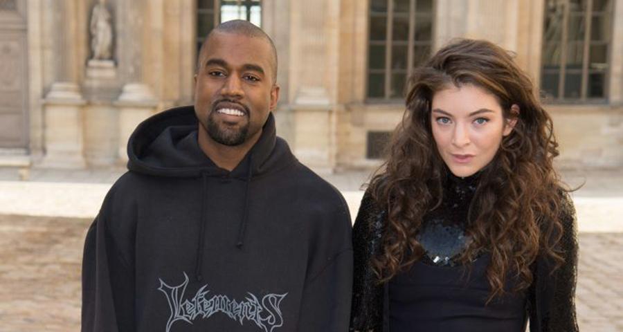 Lorde faz cover em homenagem a Kanye West em show, veja!
