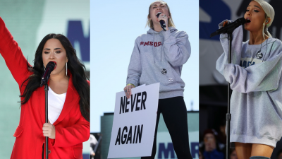 Demi Lovato, Miley Cyrus e Ariana Grande emocionam com apresentações em ato contra armas de fogo; assista!