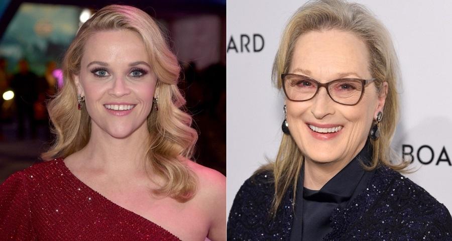 """Reese Whiterspoon conta como foi sua reação ao saber que Meryl Streep estaria em """"Big Little Lies"""""""