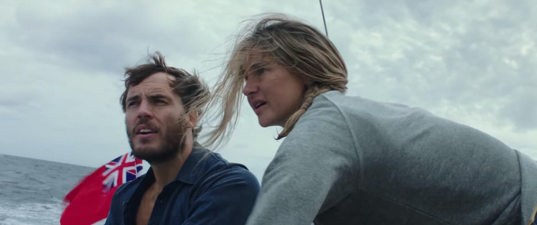 Shailene Woodley e Sam Claflin enfrentam furacão em trailer do drama 'Adrift'; assista!