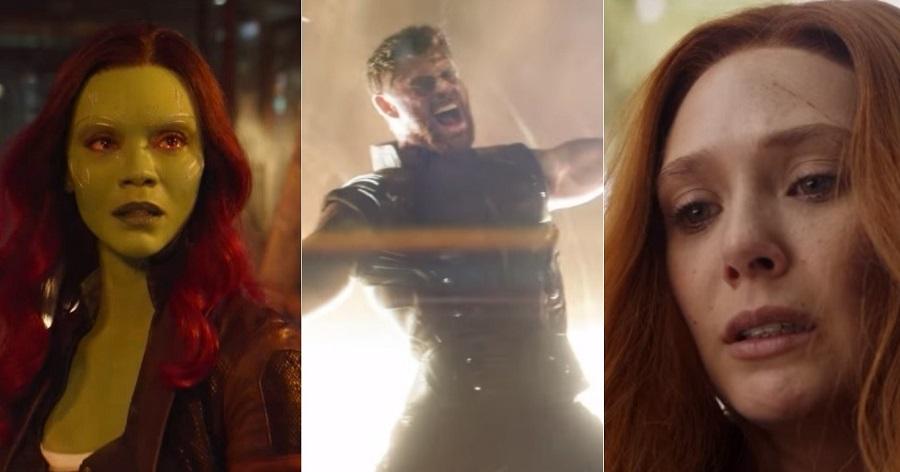 """Muuuita tensão no novo comercial de """"Vingadores: Guerra Infinita""""; vem assistir"""