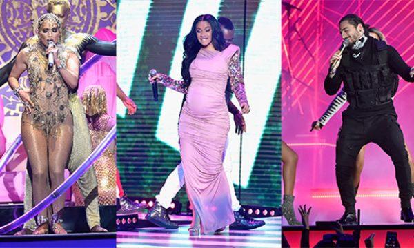 J.Lo, Cardi B, Maluma, J. Balvin, CNCO e Luis Fonsi brilham em apresentações no Billboard Latino, assista!