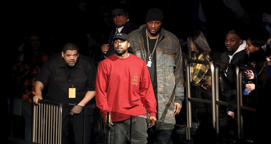Lamar Odom responde ao tweet carinhoso de Kanye West