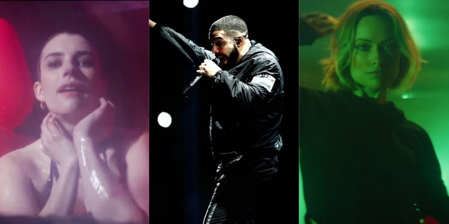 Drake lança clipe mara com Emma Roberts; Olivia Wilde e mais famosas; vem ver 'Nice For What'
