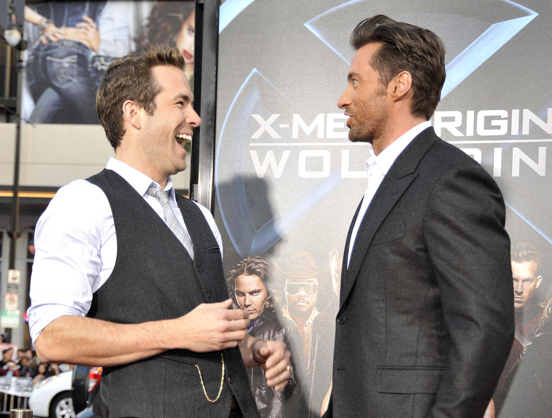 """Hugh Jackman se declara para esposa e Ryan Reynolds faz piada: """"Eu estava errado"""""""