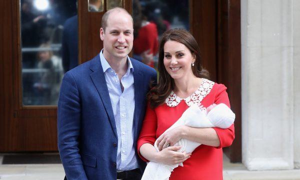 OMG! Site da família real pode ter revelado nome do novo bebê de príncipe William e Kate Middleton