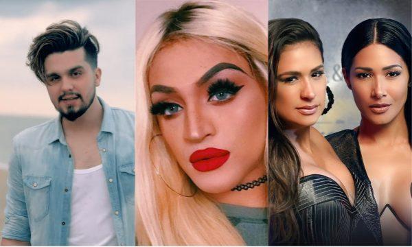Luan Santana; Pabllo Vittar e Simone & Simaria lançam parceria 'Hasta La Vista'; vem ouvir!