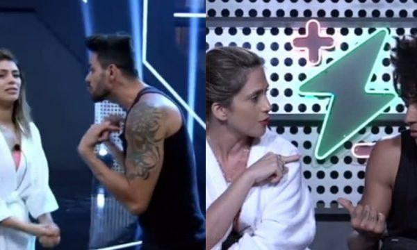 'Power Couple Brasil': Franciele chora com reação de Diego, e Nadja fala em divórcio após erro de D'Black