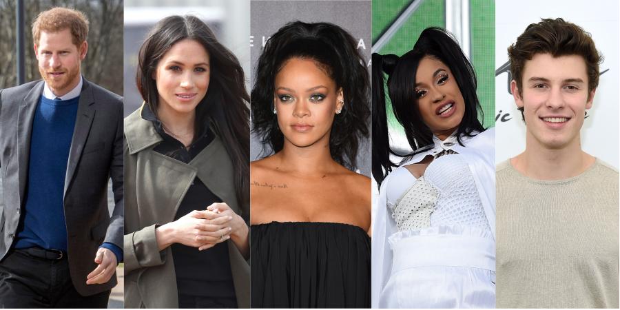 Príncipe Harry; Meghan Markle; Rihanna; Cardi B e Shawn Mendes estão entre os 100 mais influentes da TIME; veja a lista completa