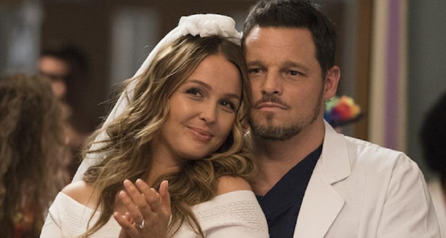 """""""Grey's Anatomy"""" corta """"festa de noivado"""" de Jo e Alex do último episódio; veja fotos"""