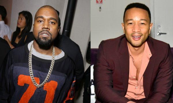Kanye West divulga SMS que recebeu de John Legend após tweets sobre Donald Trump