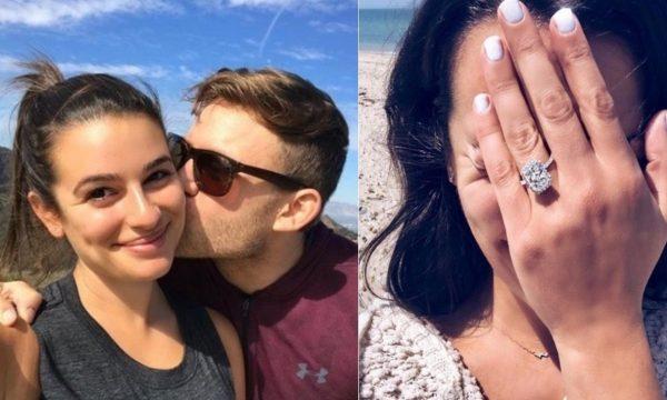 "People dá detalhes sobre o pedido de casamento de Lea Michele: ""Muito romântico"""