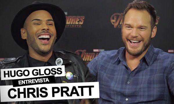 """Chris Pratt se surpreende com presente e dispara sobre Vingadores: Guerra Infinita: """"Vai definir uma geração""""; assista!"""