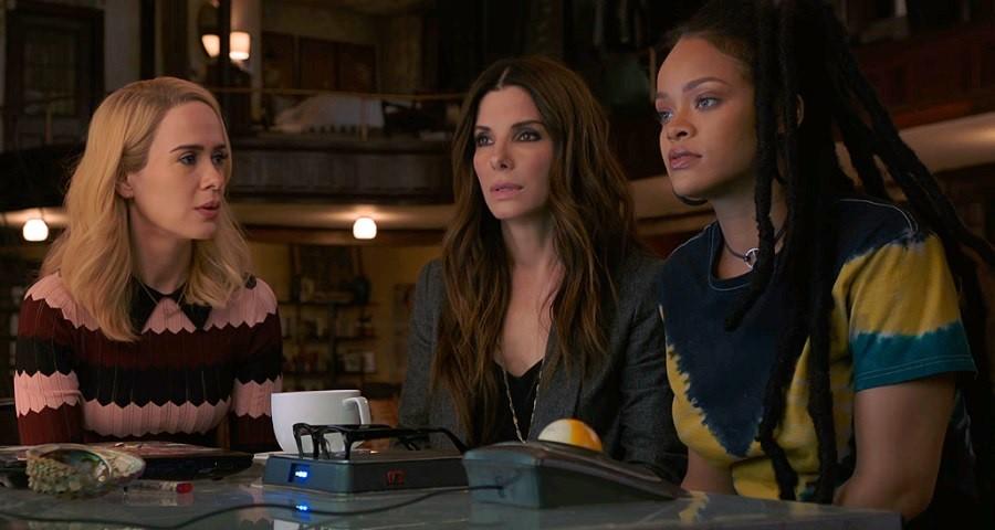 """""""Oito Mulheres e um Segredo"""" ganha novo e divertido trailer com Sandra Bullock, Rihanna e mais estrelas"""