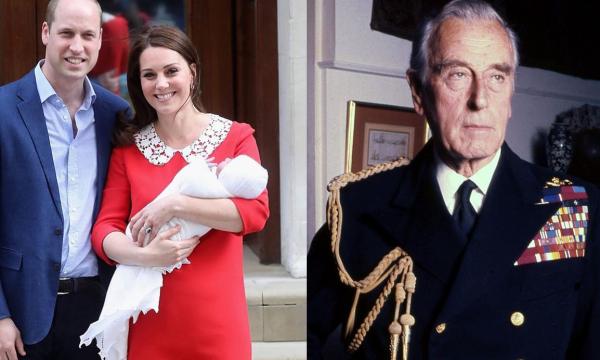 """Príncipe William e Kate homenageiam """"melhor amigo"""" do avô com nome do filho"""