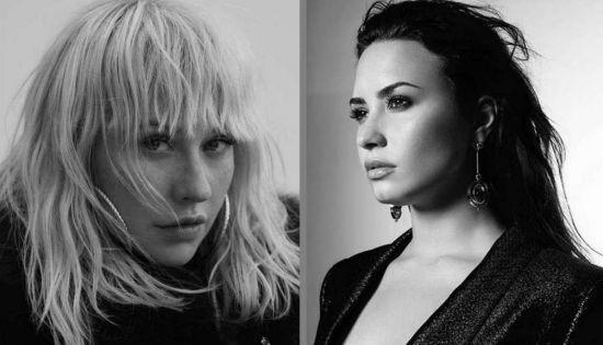"Saiu! Christina Aguilera e Demi Lovato arrasam juntas em ""Fall in Line""; ouça!"