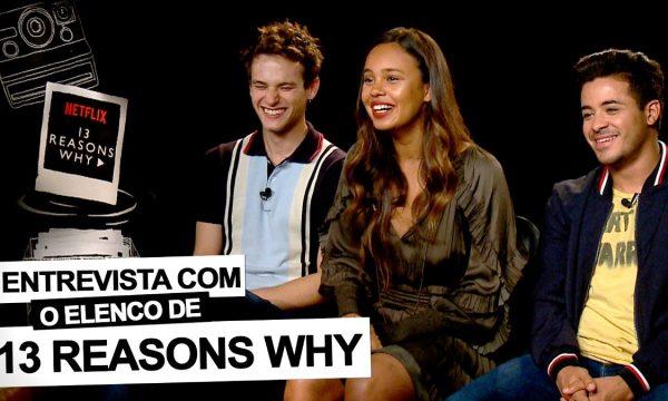 """13 Reasons Why"": Brandon Flynn, Alisha Boe e Christian Navarro contam tudo sobre a 2ª temporada"