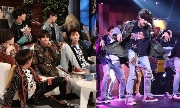 """BTS leva susto de Ellen, surpreende fãs e arrasa em nova performance de """"Fake Love"""""""
