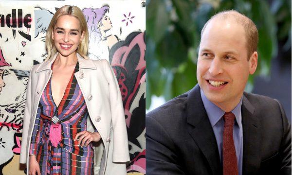 Hilário! Emilia Clarke revela detalhes de encontro embaraçoso com Príncipe William