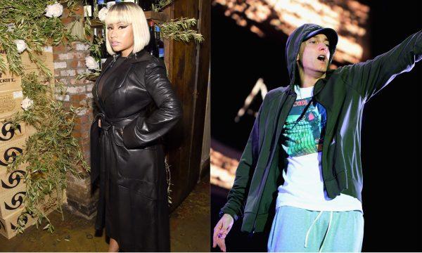 Após rumores de namoro, Eminem comenta sobre Nicki Minaj em show, e ela se adianta sobre 'primeiro encontro'