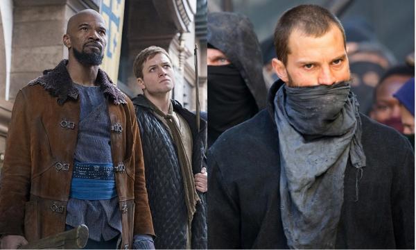 Com Taron Egerton; Jamie Dornan e Jamie Foxx, 'Robin Wood' ganha seu primeiro (e sombrio!) trailer; vem ver