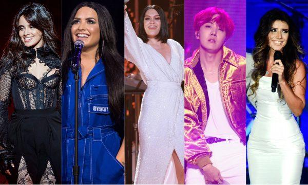 Camila Cabello; Demi Lovato; Jessie J; BTS; Paula Fernandes e mais arrasam nos lançamentos de sexta! Vem conferir tudo!